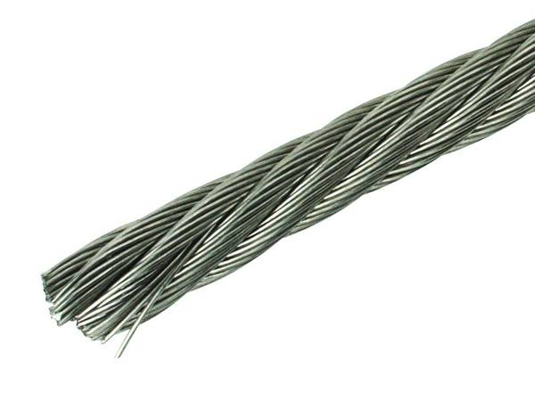 Stainless and Galvanized Steel Wire Rope New Specifications